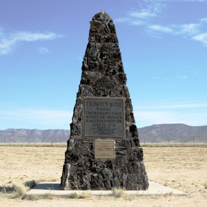 Trinity, site of first nuclear bomb test
