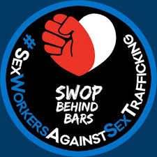 Logo for SWOP Behind Bars #SexWorkersAgainstSexTrafficking