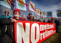 Kalama Methanol refinery protest (c) Rick Rappaport 2017