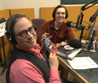 David Chelsea talks about his graphic novel Welcome to the Zone on Words and Pictures on KBOO Radio