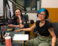 Dmae & Elina Lim, KBOO studio
