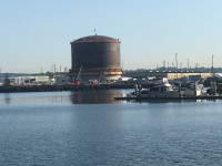 Puget Sound Energy LNG Tank at Port of Tacoma