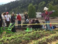 Victory Over Fossil Fuels Garden activists