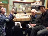 Direct Cinema documentarian Albert Maysles is interviewed at KBOO Radio for The Film Show by Kate Welch along with co-director Nelson Walker