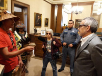 Meeting between Protectors of the Salish Sea & Inslee chief of staff 9-24-2019