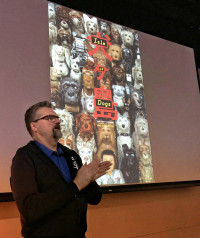 Paul Harrod talks about the new Wes Anderson animated feature Isle of Dogs on KBOO Radio with S.W. Conser's Words and Pictures