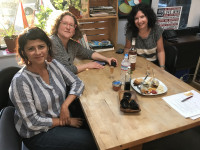 Fermentation Festival organizers Claudia Lucero, Heidi Nestler, and Liz Crain