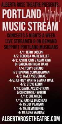 Upcoming Portland Music Stream concerts