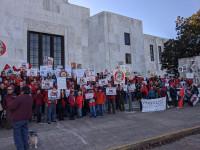 Jordan Cove Protest at Oregon State Capitol 11-21-19