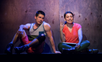Anthony Lam and Crystal Ann Muñoz in Water by the Spoonful. Photo by David Kinder.