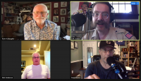 Counterpoint founder and editorial cartoonist Nick Anderson talks with S.W. Conser on Words and Pictures on KBOO Radio along with colleagues Kevin Kallaugher (KAL) and Scott Stantis