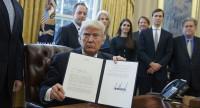 Trump signs Keystone XL executive order